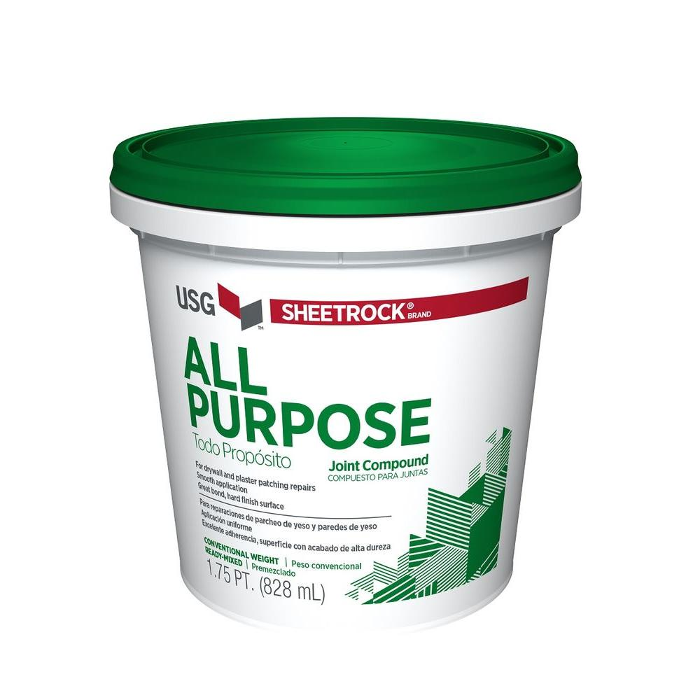 USG Sheetrock Brand 1.75 pt. All-Purpose Pre-Mixed Joint Compound