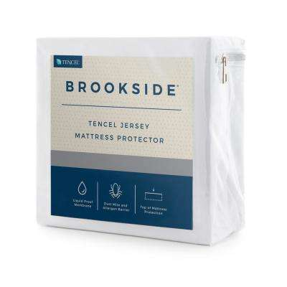 Tencel Jersey Fabric Polyester King Mattress Protector