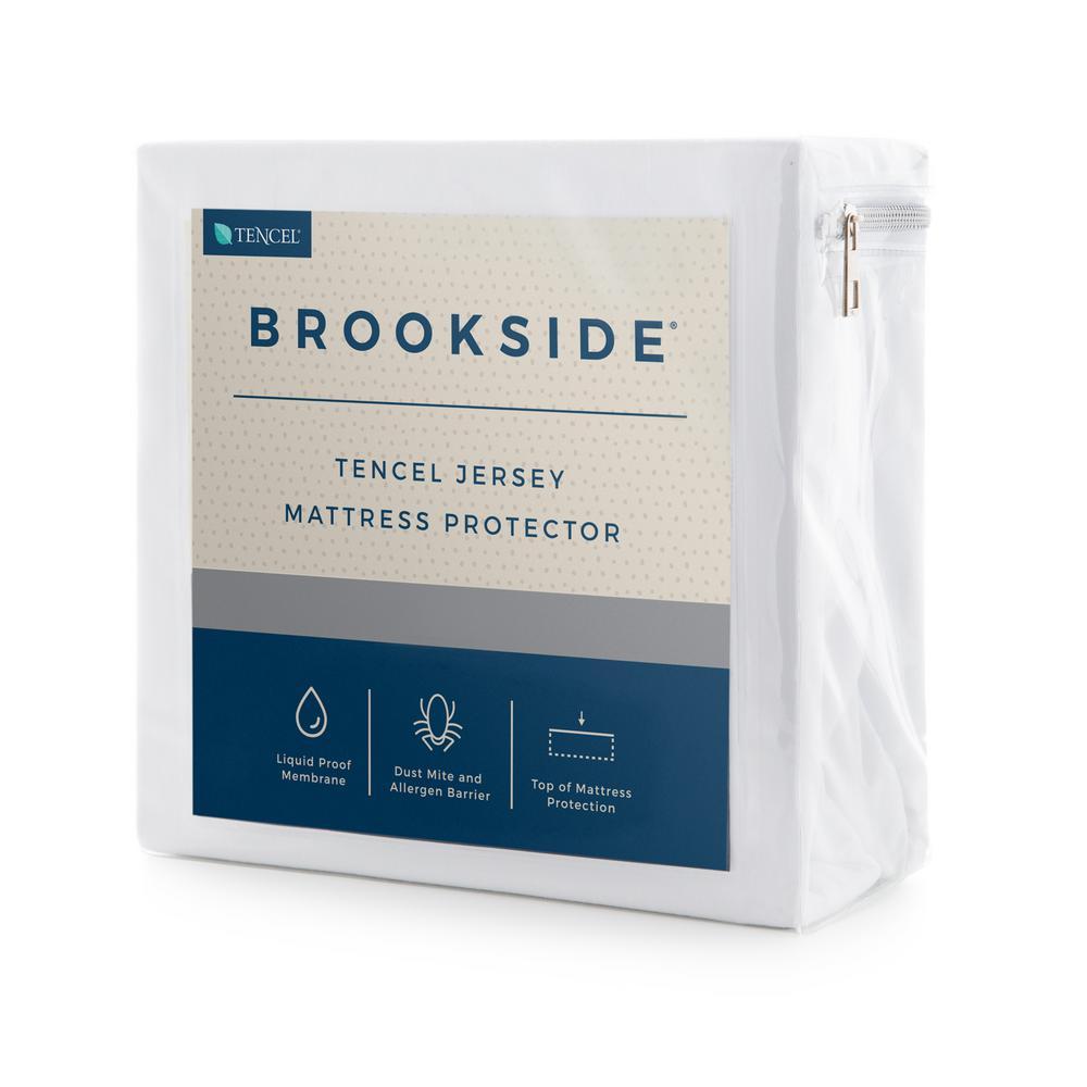 Tencel Jersey Fabric Polyester Queen Mattress Protector