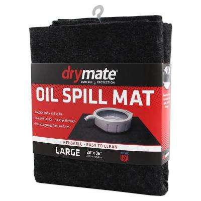 29 in. x 36 in. Oil Spill Absorbent Mat (2-Pack)