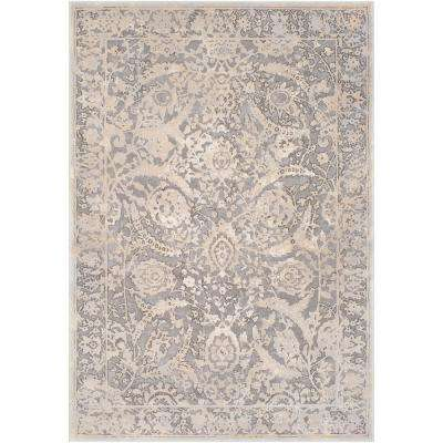 Ellanora Taupe 5 ft. x 8 ft. Area Rug