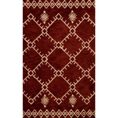 United Weavers Casablanca Safi Cherrystone 8 ft. x 11 ft. Area Rug