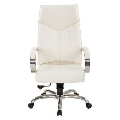 Modern - White - Leather - Office Chairs - Home Office ...