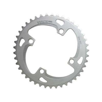 SE Flat 104 mm/BCD 42T Chainring in Silver