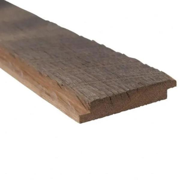 5/8 in. thick x 3 in. W x Varying Lengths Brown and Gray Weathered Barn Wood Shiplap Plank (20 sq. ft/Pack)