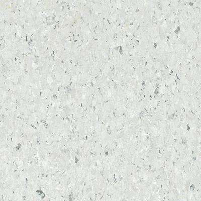 Premium Excelon Chromaspin 12 in. x 12 in. Zinc Oxide Commercial Vinyl Tile Flooring (45 sq. ft./case)
