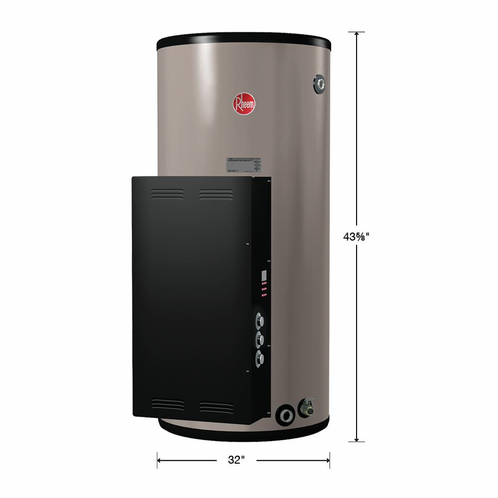 Rheem Commercial Heavy-Duty 50 Gal  480-Volt 6 kW 3 Phase Electric  Immersion Thermostat Tank Water Heater