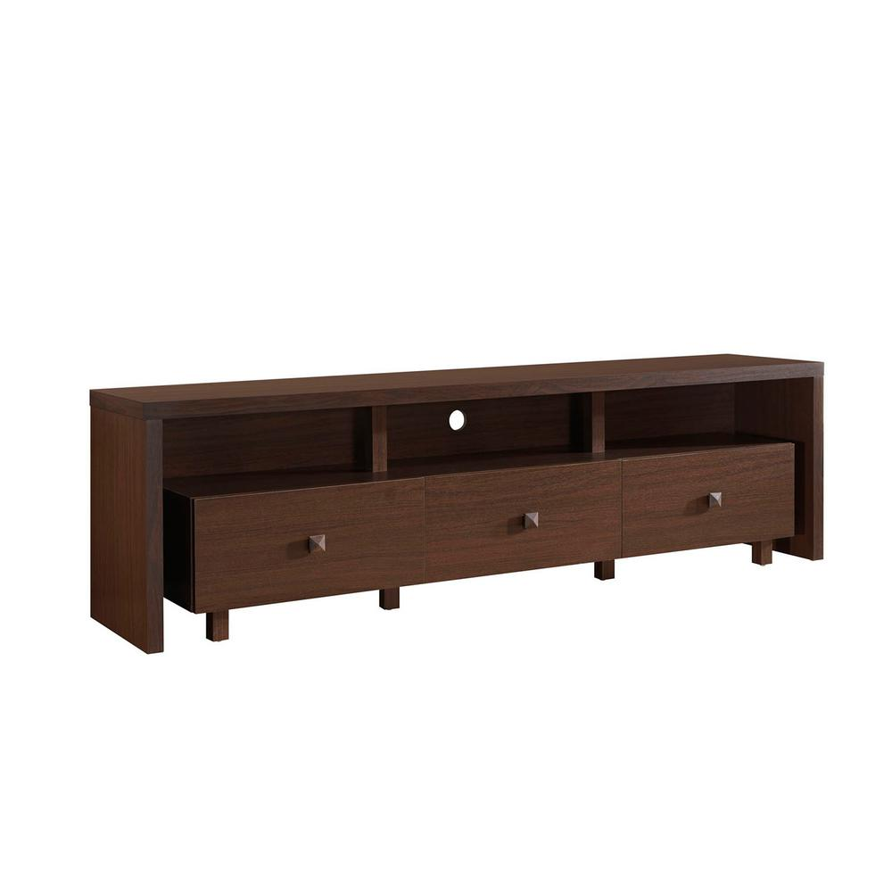 75 tv stand. Techni Mobili Hickory Elegant TV Stand For TV\u0027s Up To 75 In. With Storage Tv