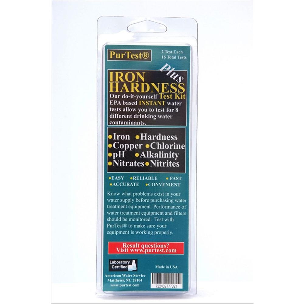 PurTest Iron Hardness Plus Kit