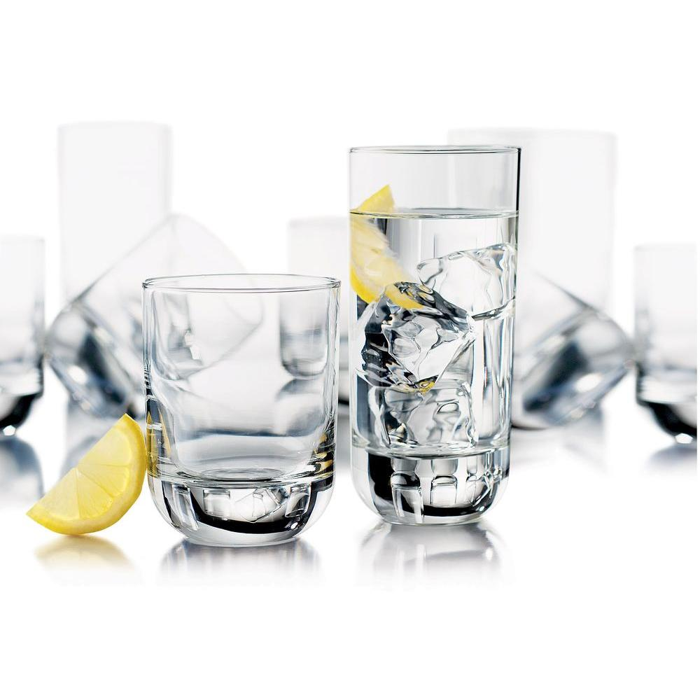 Libbey Polaris Heavy Base Tumblers in Clear (Set of 16)