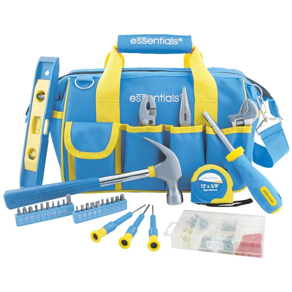Great Neck Saw Essentials Home Tool Set (21-Piece)
