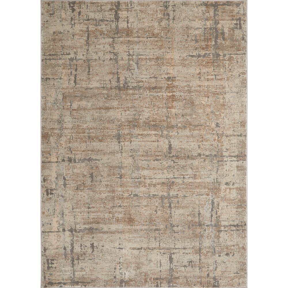 Kenmare Fasano Beige/Gray 5 ft. 3 in. x 7 ft. 2 in. Indoor Area Rug