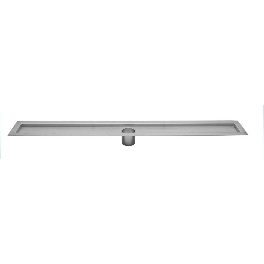 Unbranded Linear Channel Shower Drains 48 in. Shower Drain Flanged