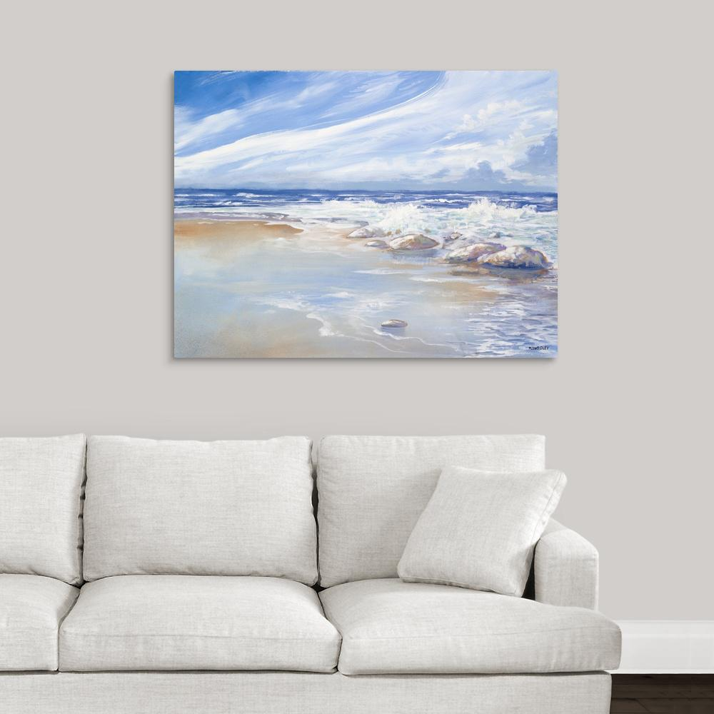 """Beach"" by Great BIG Canvas Canvas Wall Art"