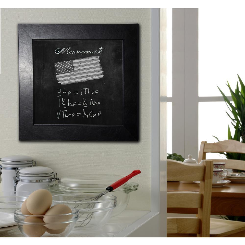 41 in. x 41 in. Black Superior Blackboard/Chalkboard