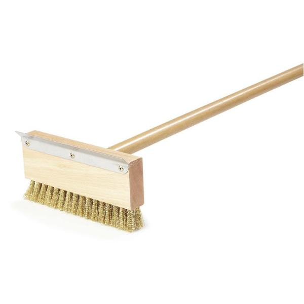 Oven Brush and Scraper with Handle