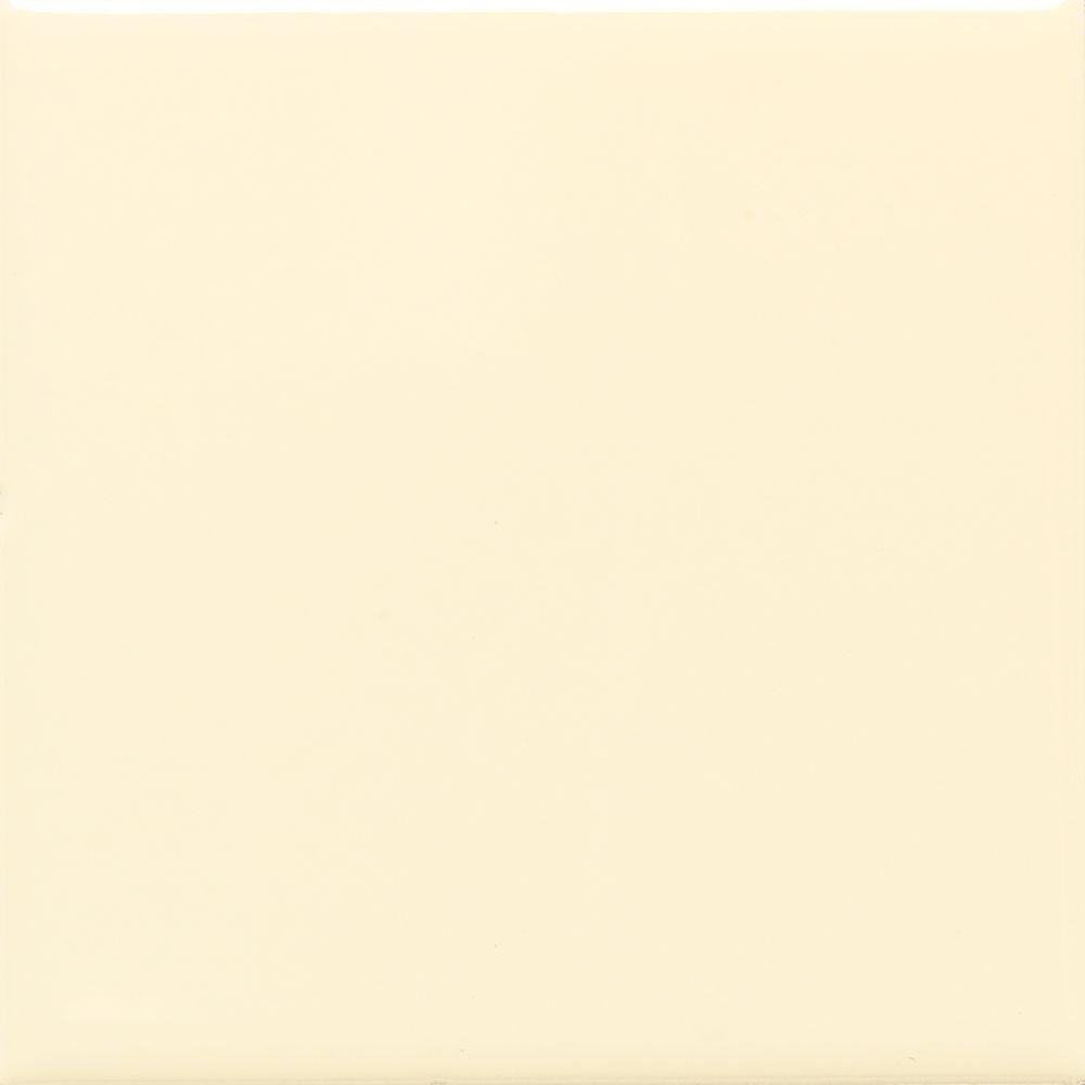 Daltile SemiGloss Crisp Linen In X In Ceramic Wall - 4x4 white tile with gold specks