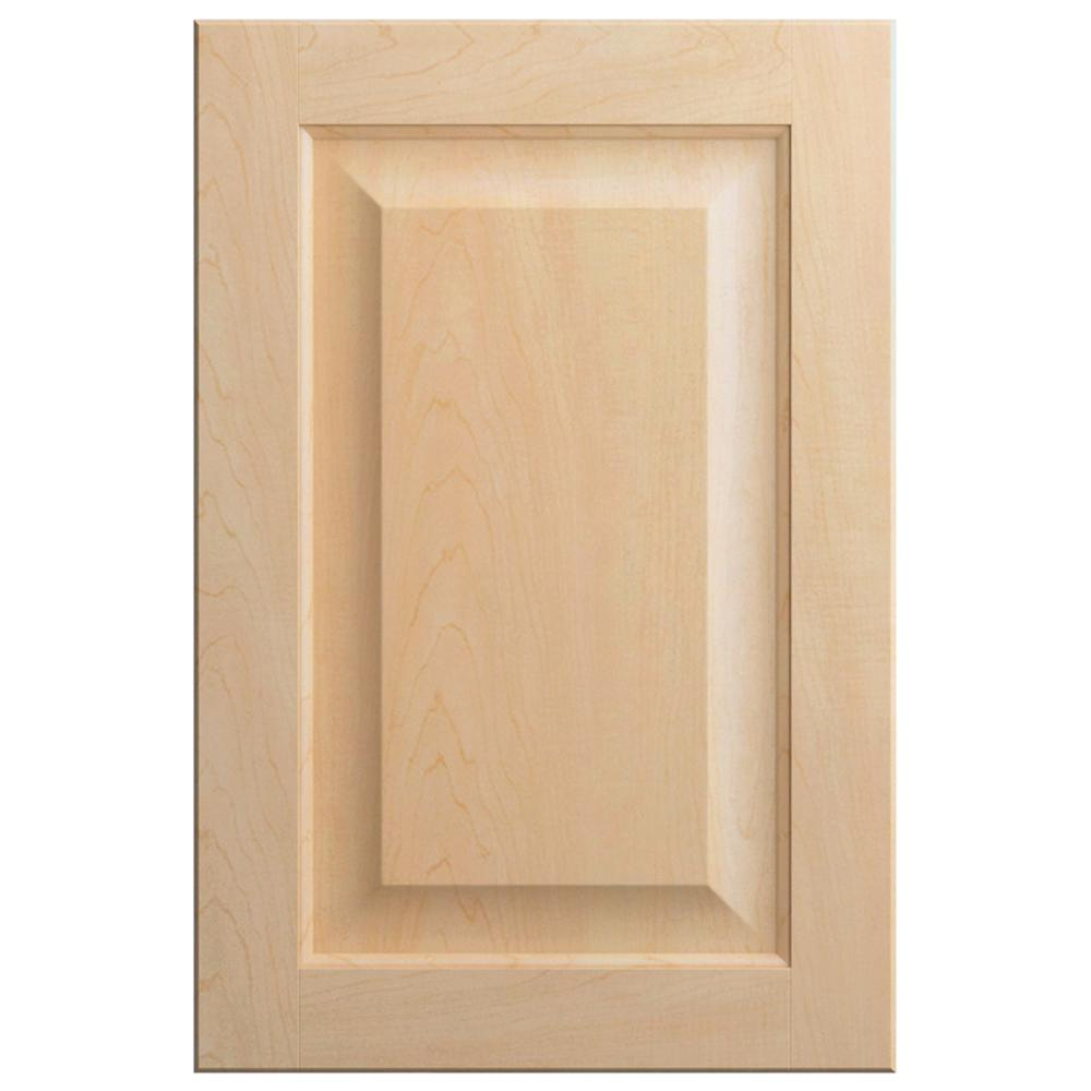 Hampton Bay 11x15 In Gretna Cabinet Door Sample In Natural Hbdssd Fnm 01 The Home Depot