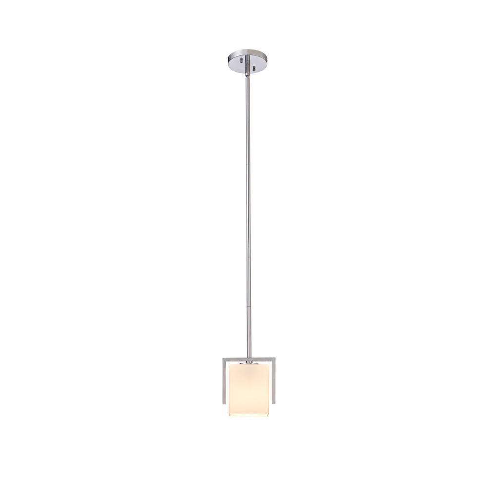 Karsen 1-Light Polished Chrome Indoor Mini Pendant