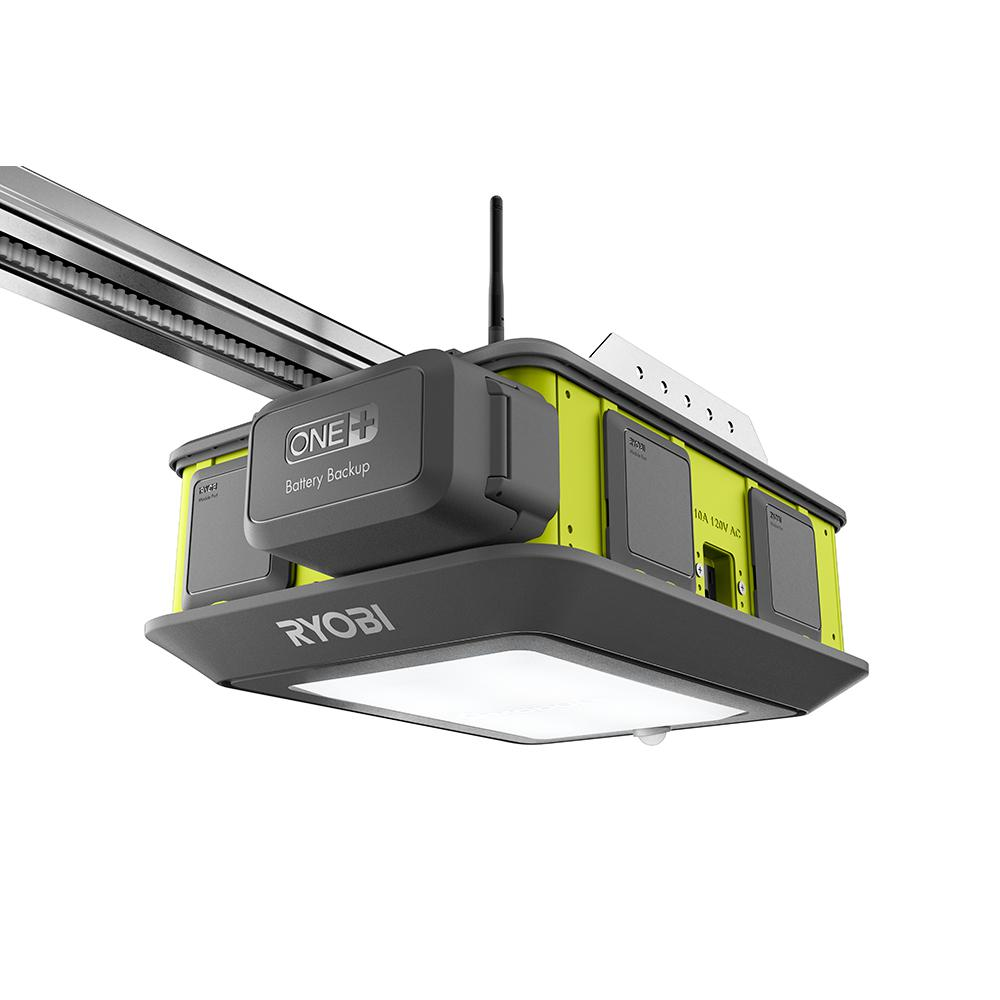 Ryobi Ultra Quiet 2 Hp Belt Drive Garage Door Opener Gd201