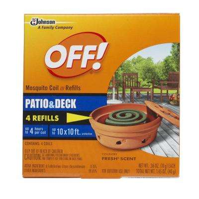 Mosquito Coil Refills (4-Pack)