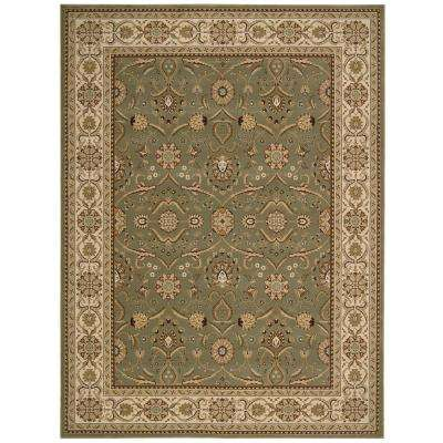 Persian Crown Malti Green 3 ft. 9 in. x 5 ft. 9 in. Area Rug