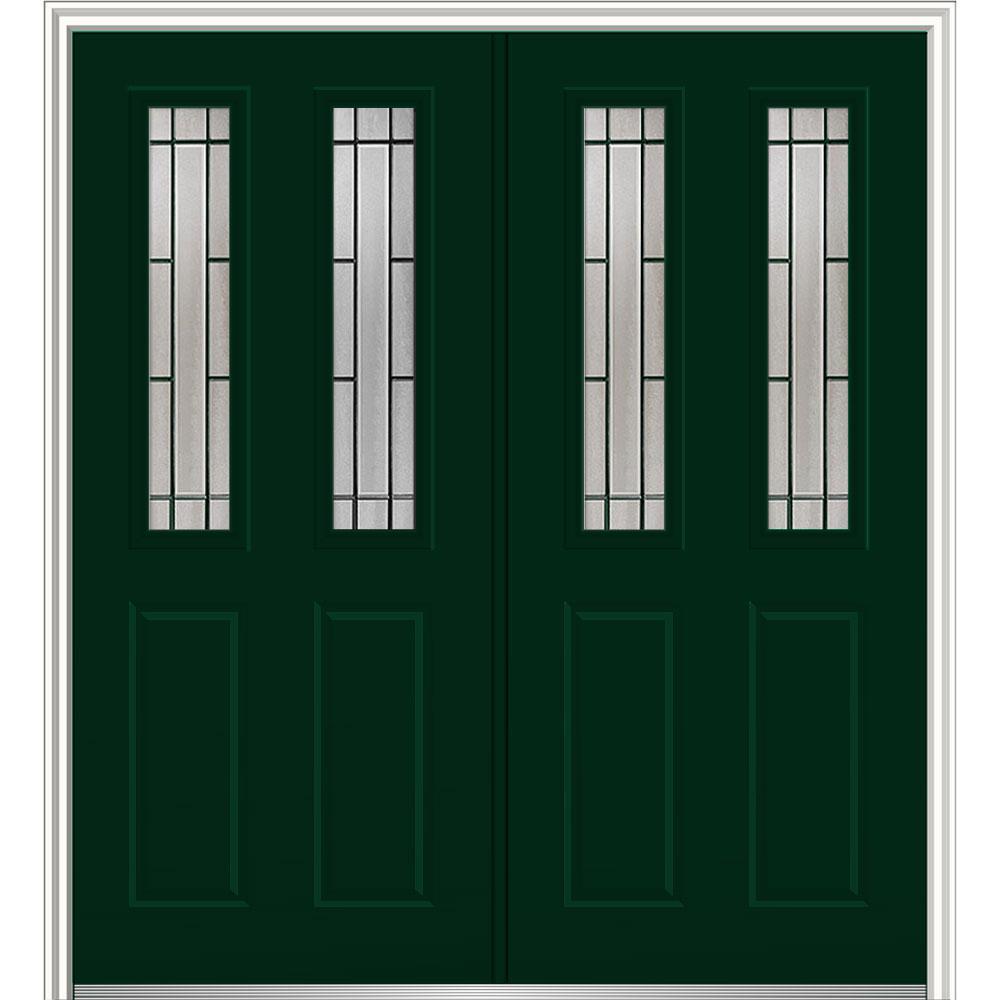 MMI Door 72 in. x 80 in. Solstice Right-Hand Inswing 2-Lite ...
