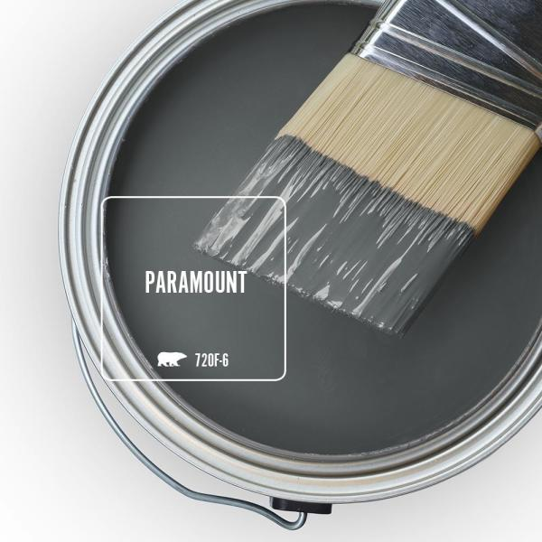 Reviews For Behr Marquee 5 Gal 720f 6 Paramount Semi Gloss Enamel Exterior Paint Primer 545305 The Home Depot
