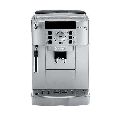 Magnifica XS Compact Fully Automatic Black and Silver Espresso Machine and Cappuccino Maker