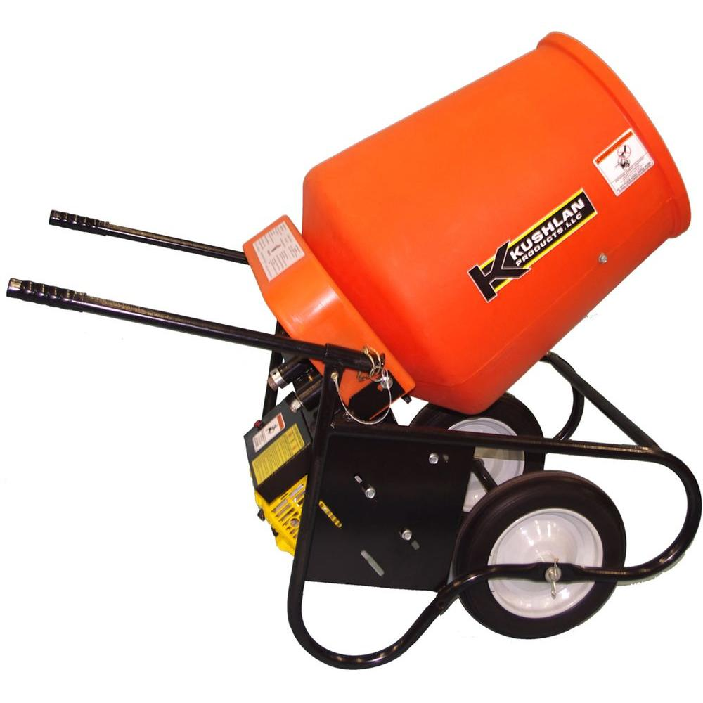 Kushlan 3.5 cu. ft. Gas Powered Cement Mixer - DISCONTINUED