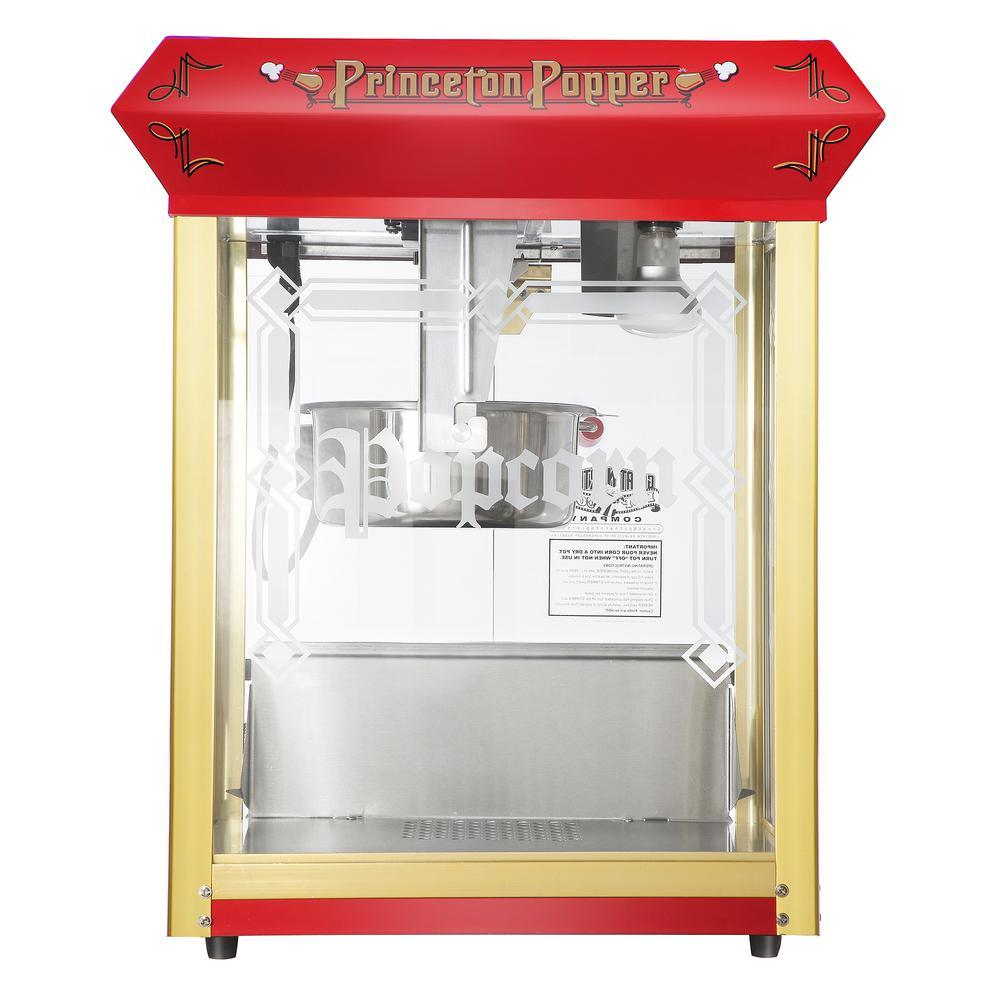Princeton 8 oz. Antique Red Countertop Popcorn Machine