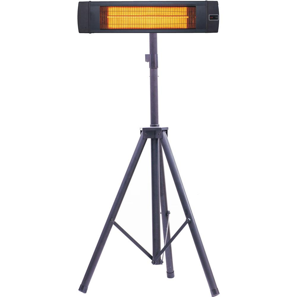Hanover 34 6 In 1500 Watt Infrared Electric Patio Heater With