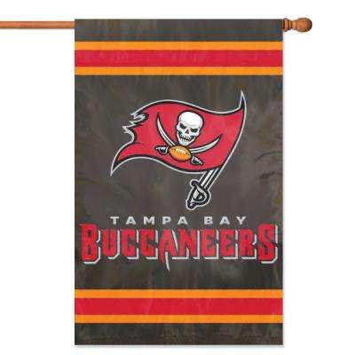 Tampa Bay Buccaneers Applique Banner Flag
