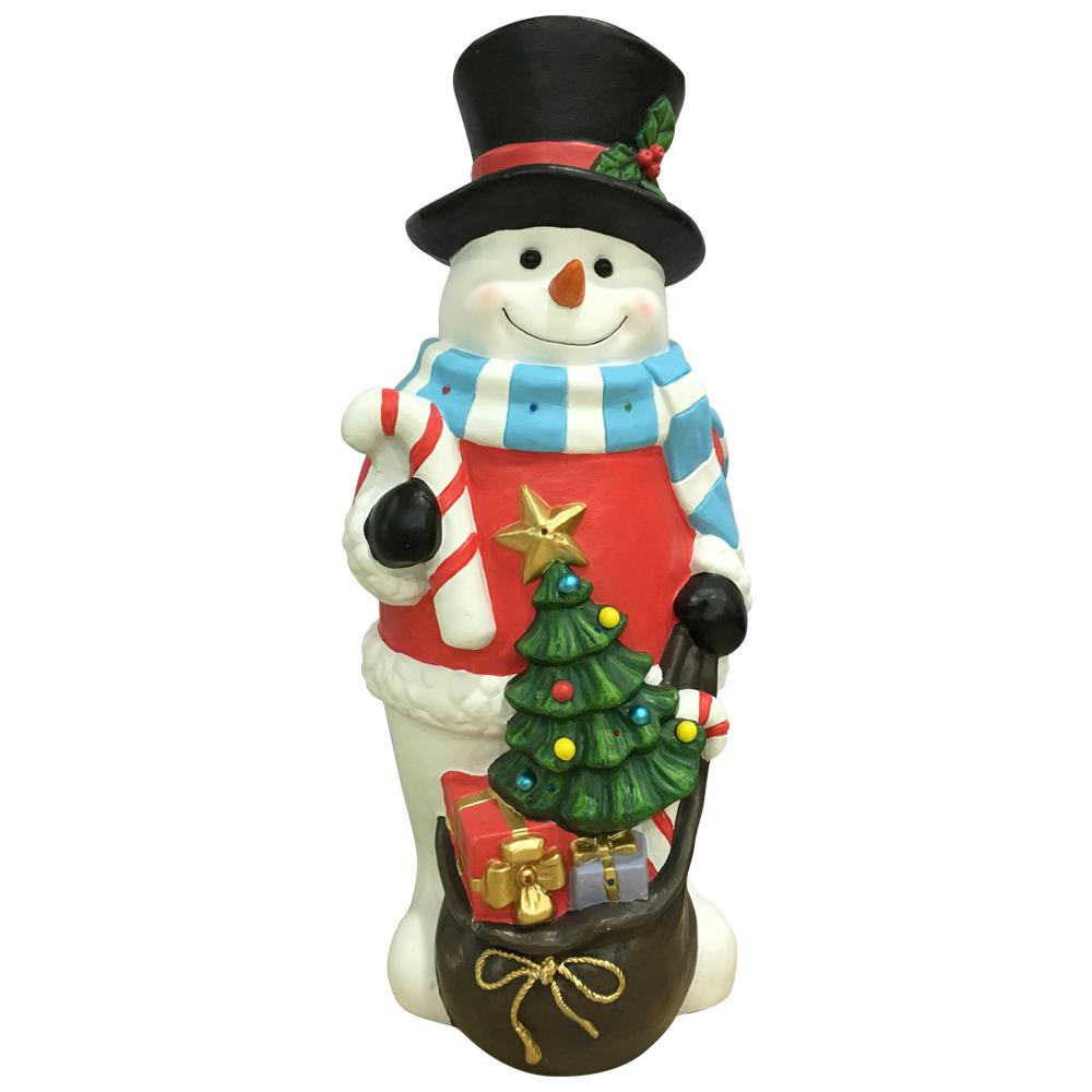 HomeAccentsHoliday Home Accents Holiday 36 in. H Christmas Snowman with LED Lights