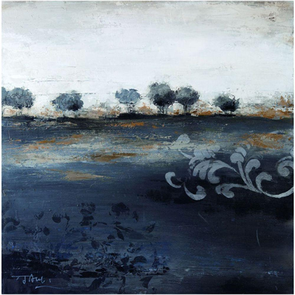Yosemite Home Decor 39 in. x 39 in. Land of Foreboding II Hand Painted Contemporary Artwork-DISCONTINUED