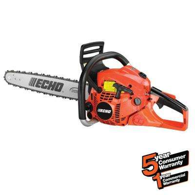 20 in. 50.2cc Gas 2-Stroke Cycle Chainsaw