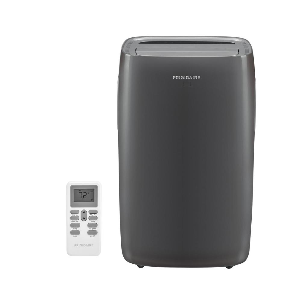 Frigidaire 14,000 BTU 3-Speed Portable Air Conditioner with Heat,  Dehumidifier, and Remote for 700 sq  ft