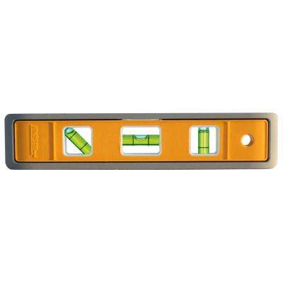 9 in. Magnetic Aluminum Torpedo Level
