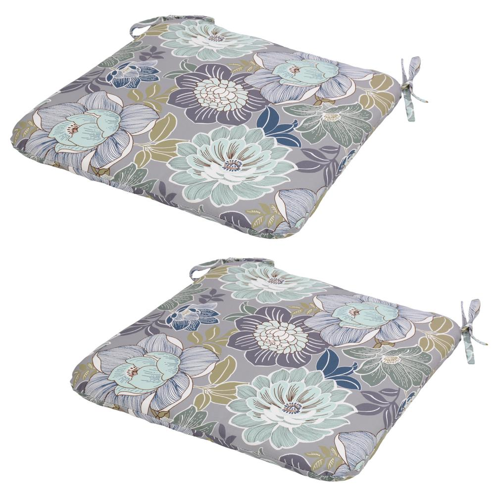 Charleston Floral Outdoor Seat Cushion (Pack of 2)-7348-02228700 ...