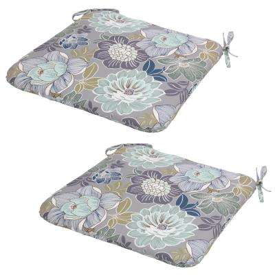 Charleston Floral Outdoor Seat Cushion (Pack Of 2)
