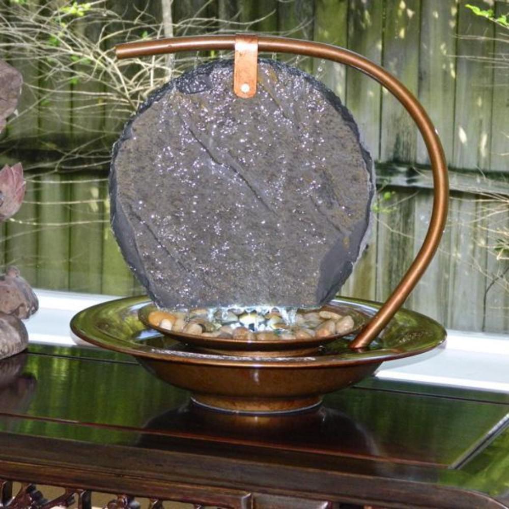 Water Wonders Moon Shadow Tabletop Fountain