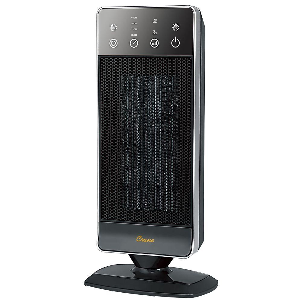 Crane 1200-Watt Ultra Slim Mini Portable Tower Heater-DISCONTINUED