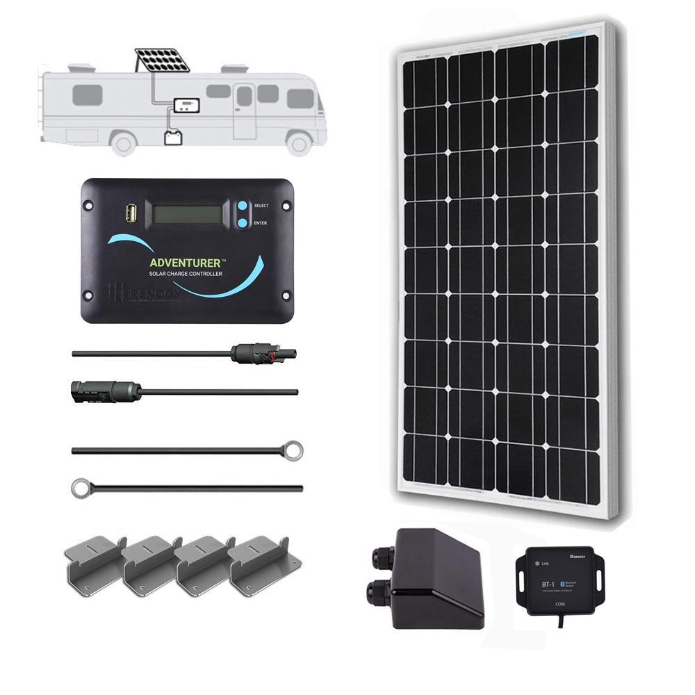 100-Watt 12-Volt Off-Grid Solar System for Solar RV Kit