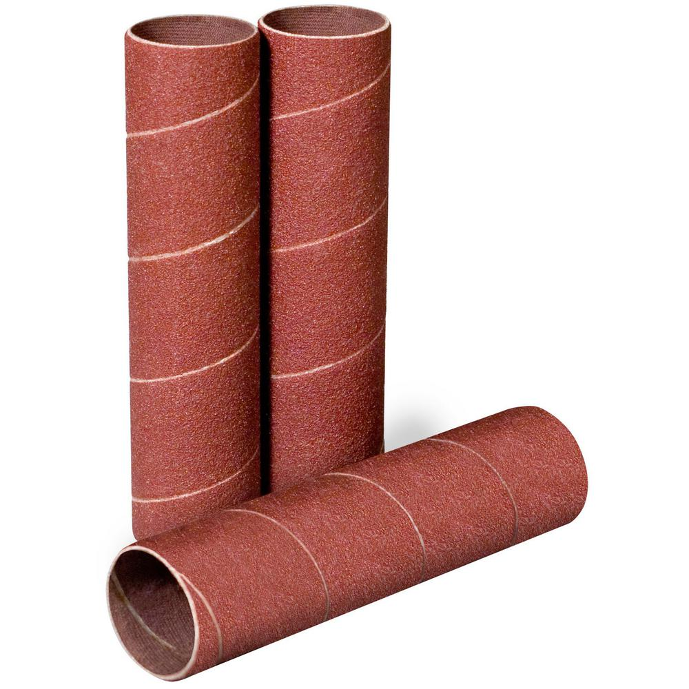 4-1/2 in. x 1 in. 120-Grit Sanding Sleeves (3-Pack)