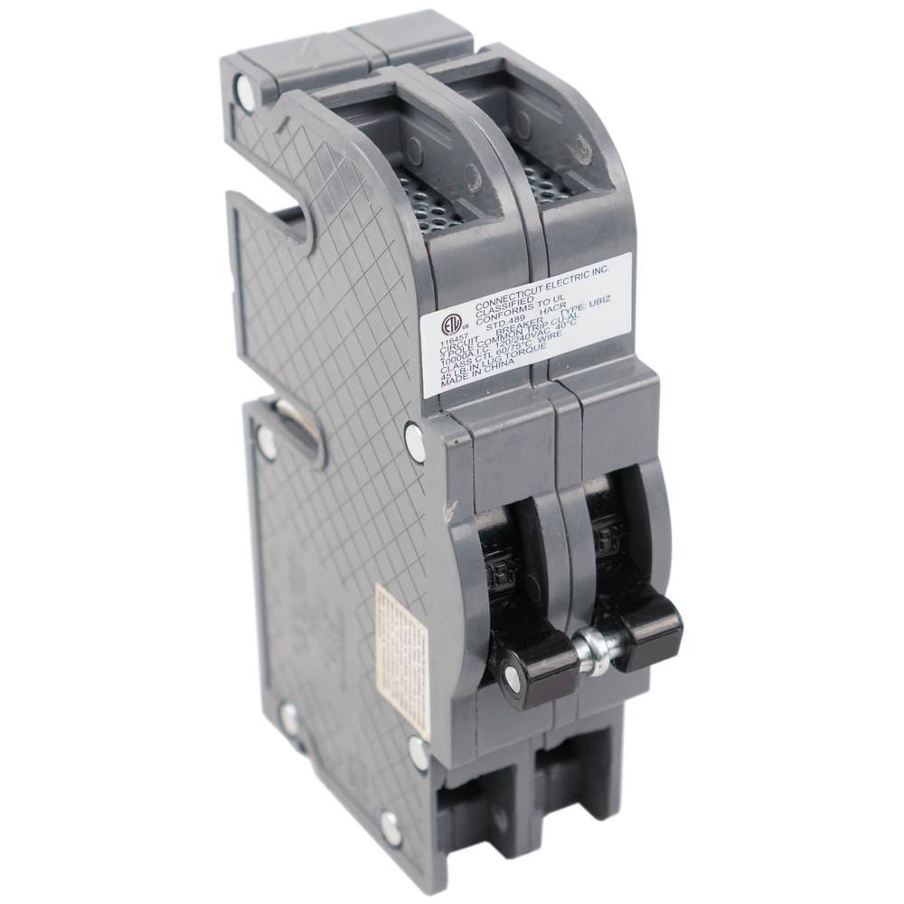 ZINSCO SYLVANIA T/&B CHALLENGER  RC38-60 2 Pole 60 Amp Circuit Breaker flawed