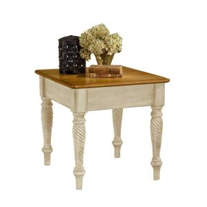Hillsdale Furniture Wilshire Antique White End Table by Hillsdale Furniture