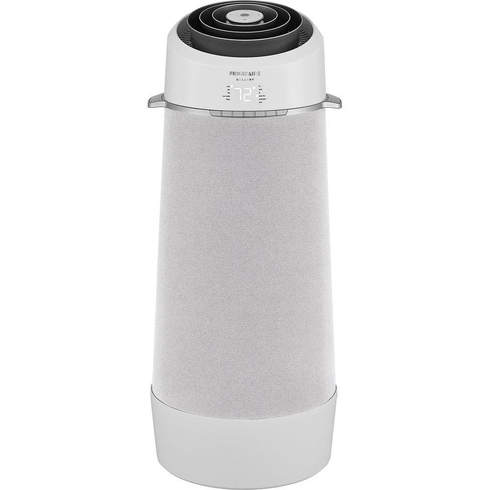 10,000 BTU 5,200 BTU (DOE) Portable Air Conditioner with Dehumidifier in White