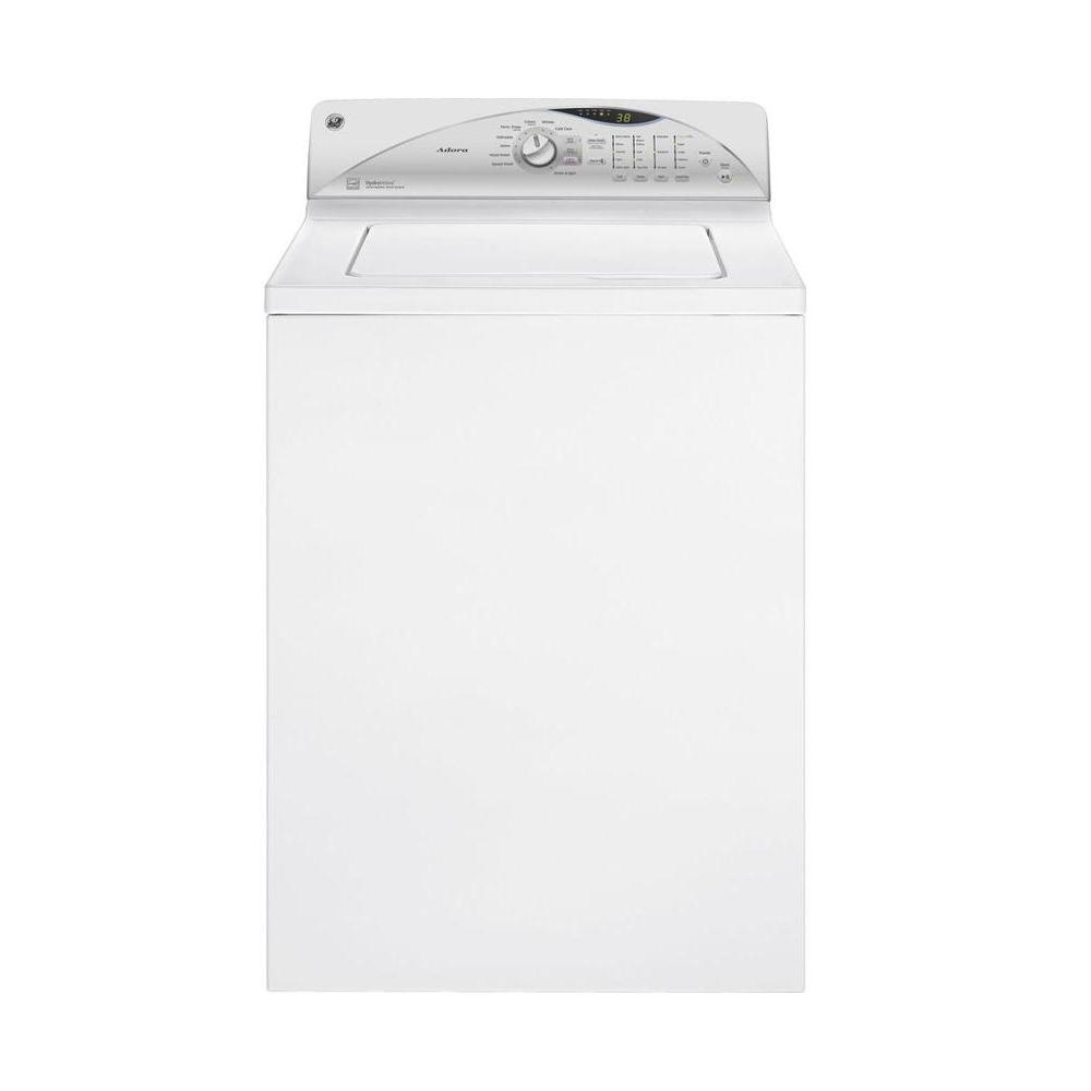 GE Adora 3.9 DOE cu. ft. Top Load Washer in White, ENERGY STAR