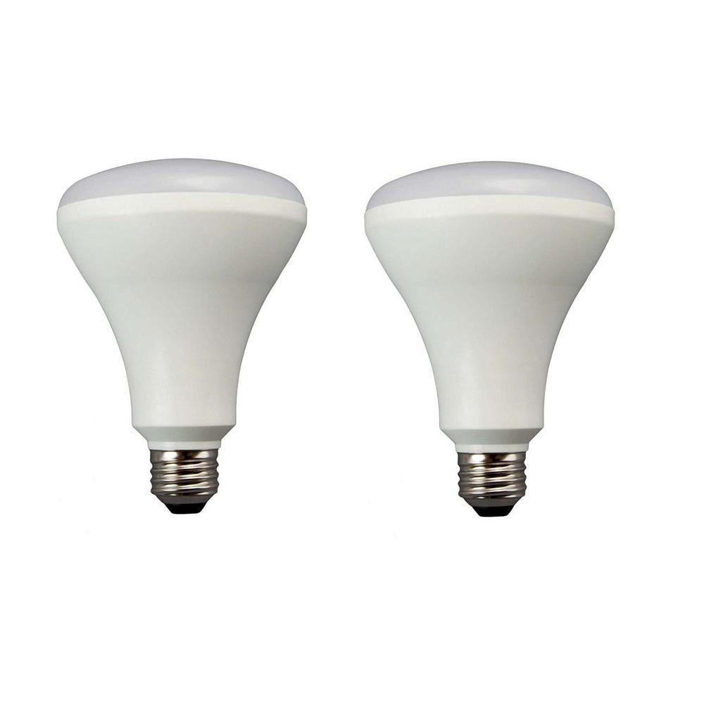 65W Equivalent Soft White E26 LED Dimmable Light Bulb 2 Pack