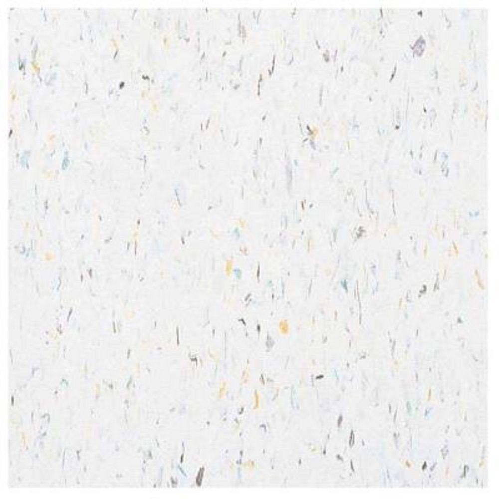 Take Home Sample - Multi Harlequin White Excelon Vinyl Tile - 6 in. x 6 in.